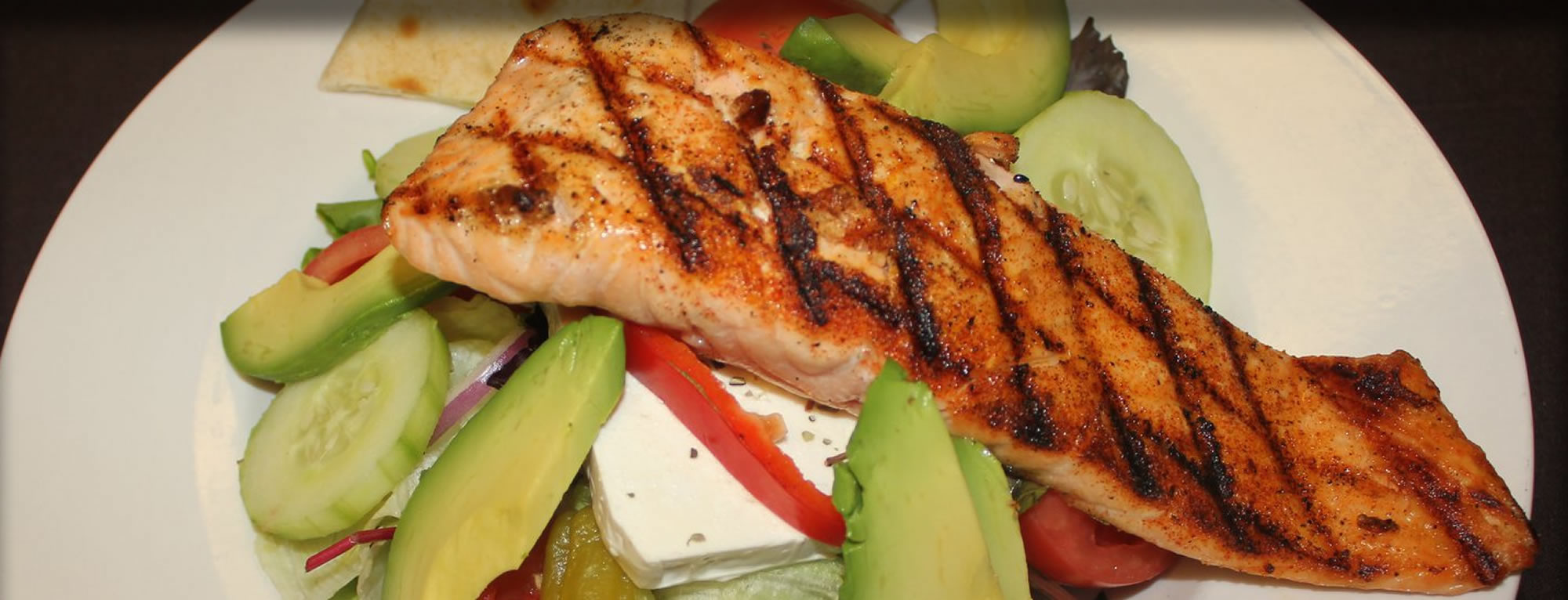 Salmon-Greek-Salad